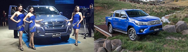 全新Isuzu D-Max 1.9对决Toyota Hilux Revo,你会选择谁?