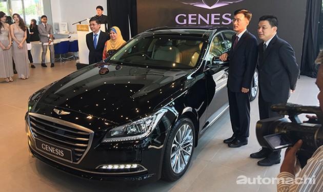 动作迅速!Genesis首款作品G90/EQ900确定年尾韩国发布!