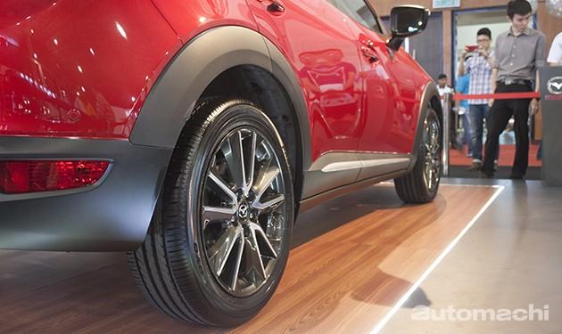 魂动降临!Mazda CX-3确定12月8号正式发布!