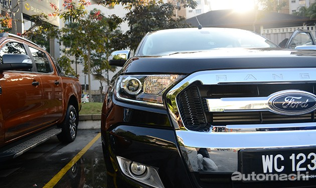Ford Ranger 2016,爬山涉水我最行!
