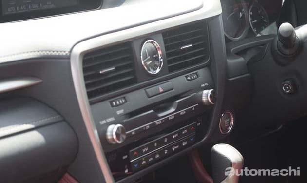 Lexus RX200t F-Sport,完美进化的LSUV!