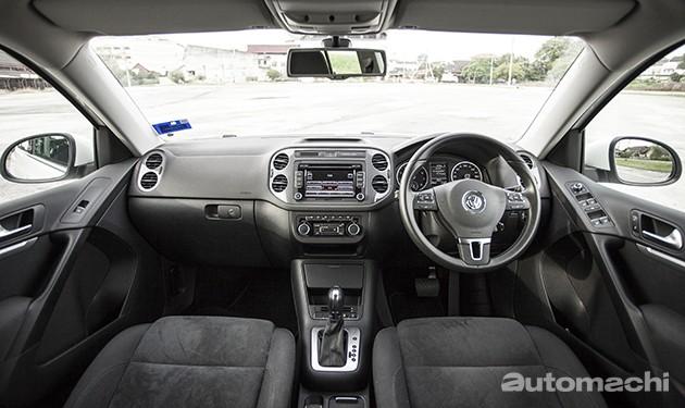 VW Tiguan 1.4,浓厚德国风味