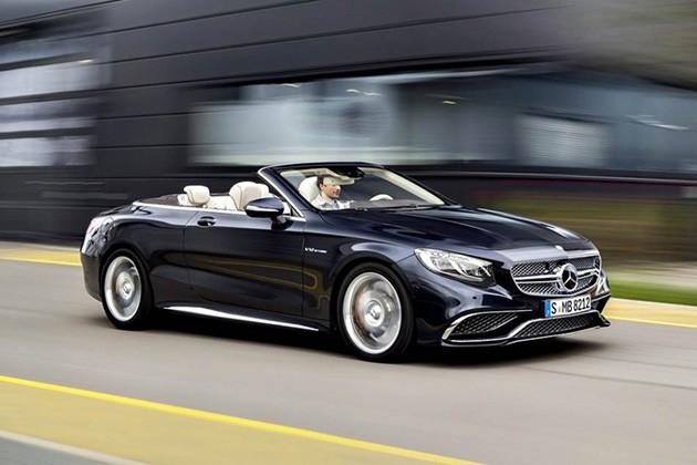 Mercedes-Benz新超跑来临?Mercedes-AMG S65 Cabriolet搭载6.0L V12双涡轮引擎登场!