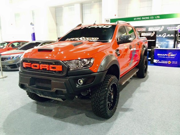 Ford Ranger Raptor亮相曼谷车展?