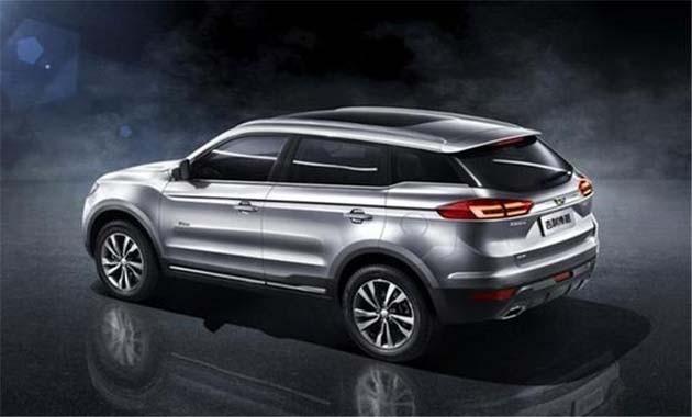 中国最美SUV现身!吉利博越将在明年正式开卖!