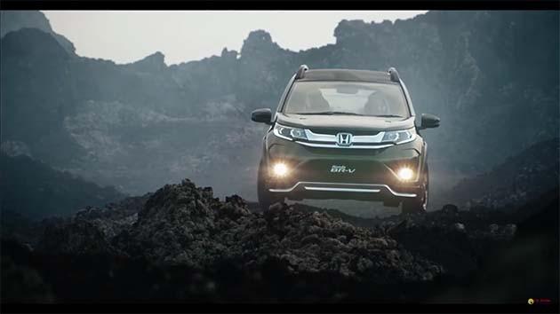 Honda BR-V印尼宣传映像曝光!细节完整呈现!