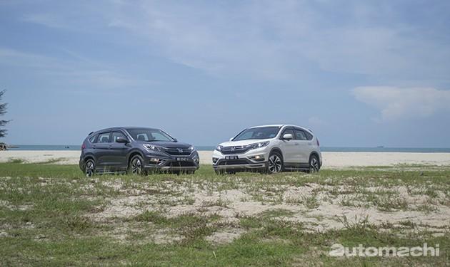 Honda CR-V Facelift 2.4,适合一家出游做户外活动的SUV!