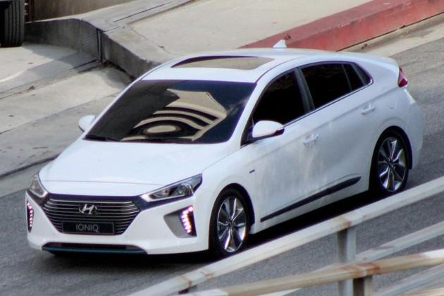 Prius终极现身!Hyundai Ionqi发布在即谍照曝光!