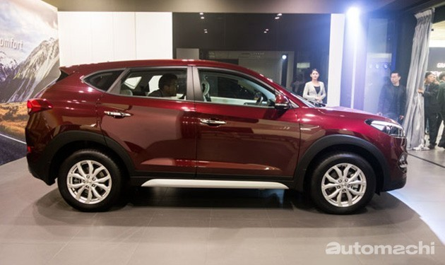 SUV就是王道!第三代Hyundai Tucson在欧洲热卖!