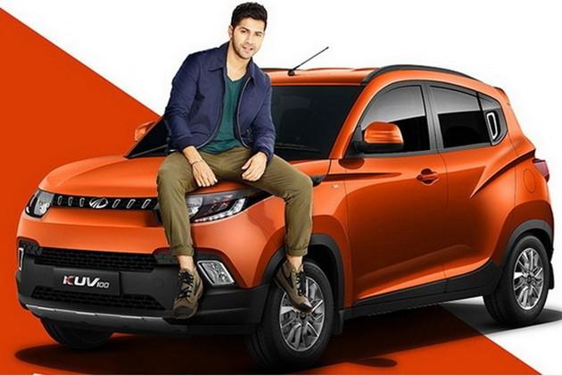 印度新势力!Mahindra发布全新跨界SUV KUV100!