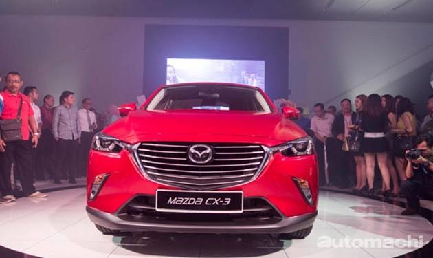 良心价!台湾Mazda CX-3汽油版价格只需要11万8千令吉!
