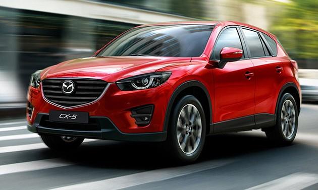 Mazda CX-5 2016年年式配备大幅度升级!