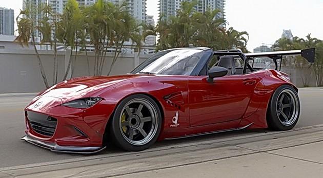 霸气套件上身!Mazda MX-5瞬间战斗力破表!