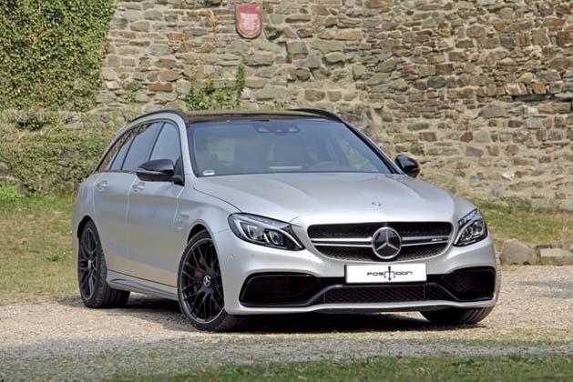 史上最强的C-Class!再升级的Mercedes-AMG C63/C63 S最大马力上看690hp!
