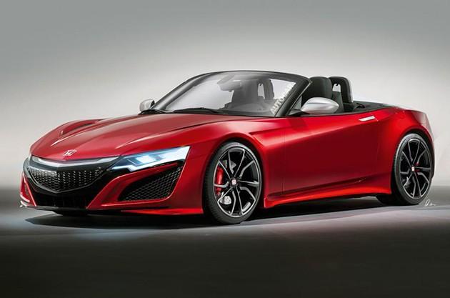 Honda将复活S2000车型来挑战Mazda的MX-5!!