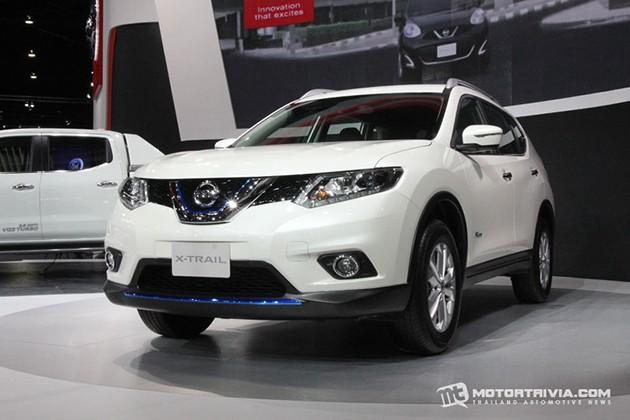 油电风盛行?Nissan X-Trail Hybrid在曼谷车展展出!