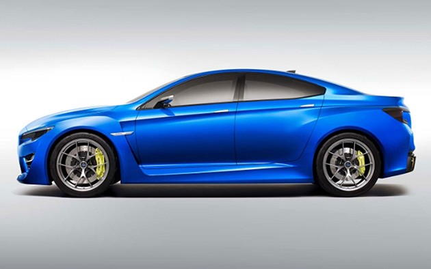 全新Subaru WRX STI讲采用Hybrid动力配置!