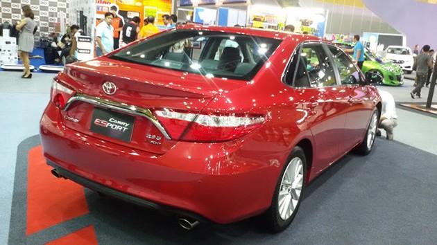 曼谷车展,Toyota Camry Esport震撼登场!价格19万令吉!