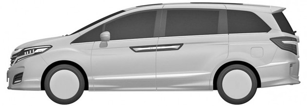 美规Honda Odyssey专利图曝光!