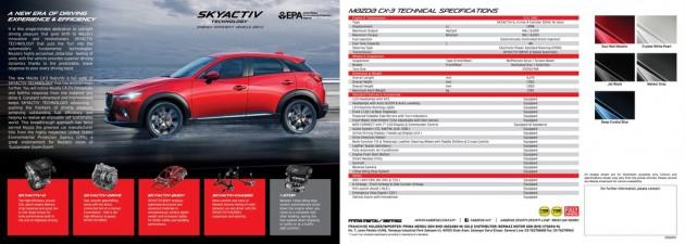 上市前最后冲刺?Mazda CX-3消息规格曝光!