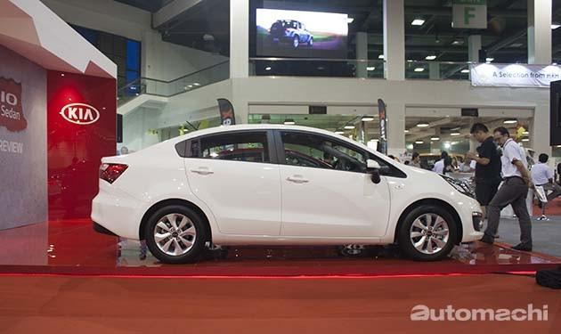 B-Segment房车大战正式开打!Kia Rio Sedan确定明年一月平价上市!