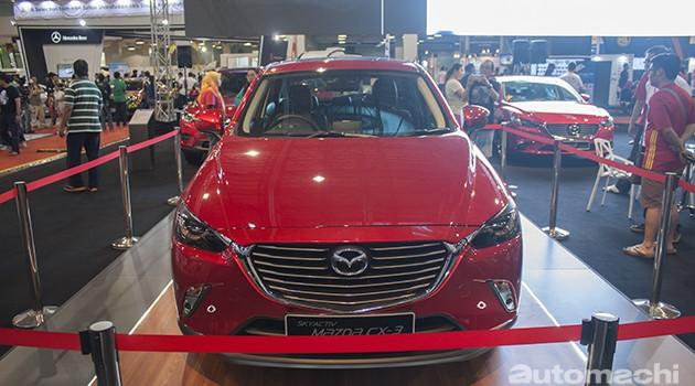 Mazda CX-3泰国和台湾价格同时宣布!最便宜9万9千令吉最贵13万7千令吉!