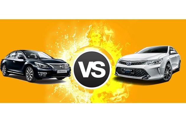 大马D-Segment之争!Nissan Teana和Toyota Camry谁最棒?
