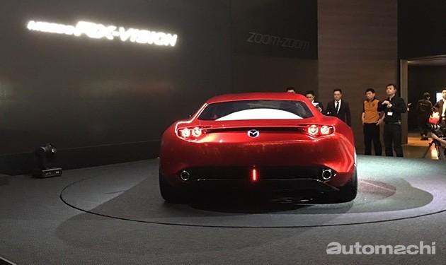经典转子又获奖!Mazda RX-Vision获得年度最佳概念车奖!