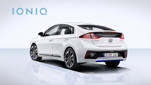 最美Hybrid正式发表!Hyundai Ioniq油耗达到了22.4km/L!
