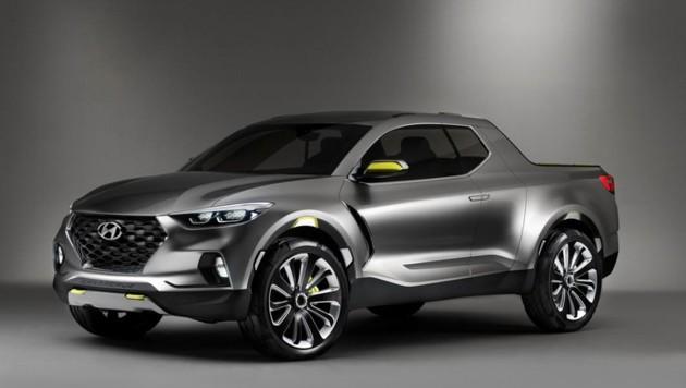 进军皮卡界!Hyundai Santa Cruz确定投产!