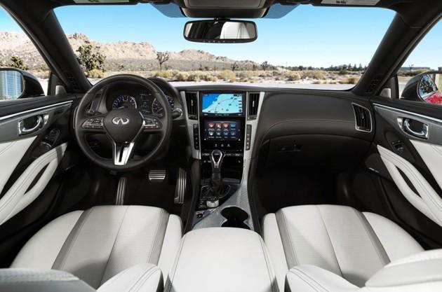 底特律车展:日系阵容再发力!Infiniti Q60 Coupe登场!