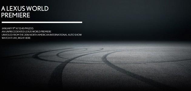 日系豪华跑车预告!Lexus LC500现身底特律车展!
