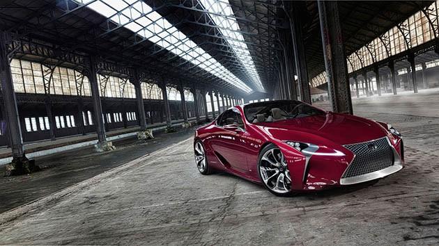 4.0 V8双涡轮引擎600匹马力??Lexus LC跑车预告来袭!
