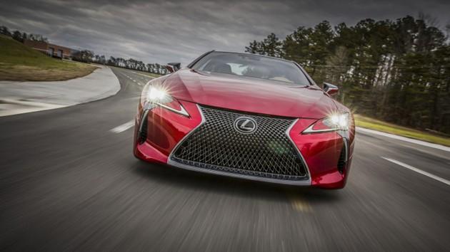 底特律车展:Lexus LC500正式发布!全球首款搭载10速自排的跑车!