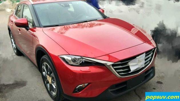 经典魂动红才是Mazda!CX-4一身亮红再次现身!