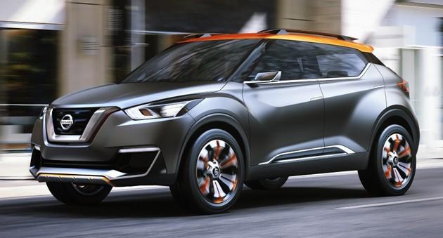 Crossover风吹不完!Nissan宣布Kicks投产并且在年尾推出!