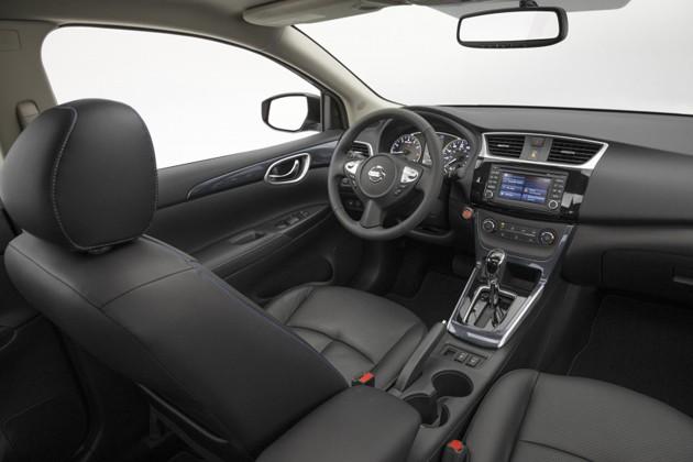 小改款Nissan Sylphy美国正式上市!全新V-Sharp家族脸上身!