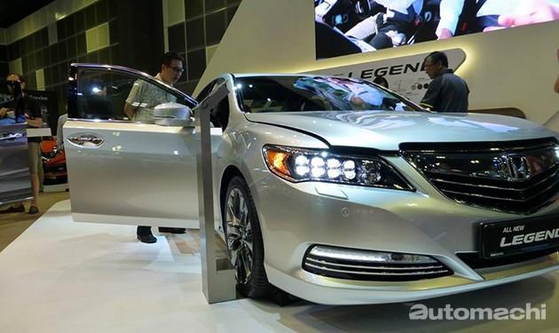 新加坡车展:Honda旗舰Legend震撼登场!