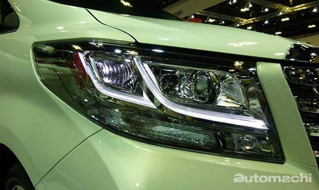 新加坡车展:老板们的新宠!全新Toyota Alphard/Vellfire登场!