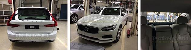 最豪华的旅行车!Volvo V90无伪装照网络上曝光!