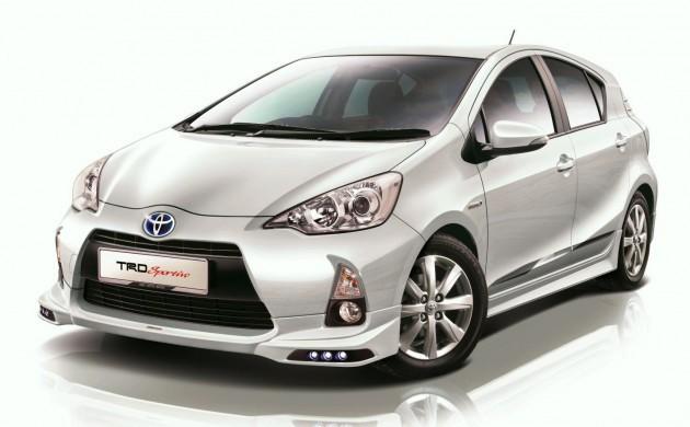 广传Toyota即将在本地组装Prius C重新回到入门Hybrid市场!