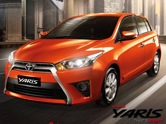 Toyota Yaris 2016即将登陆我国市场?