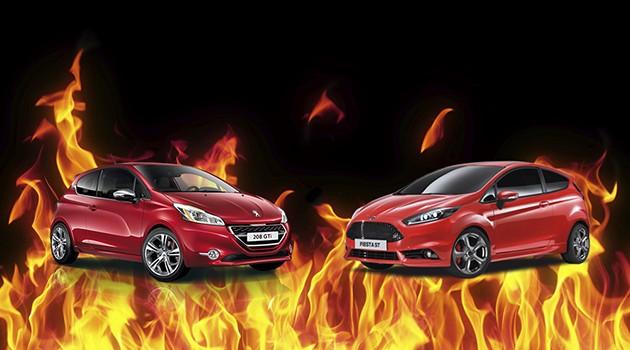 钢炮车款还是要手排才对味!208 GTI和Fiesta ST两大Hot Hatch的战争!