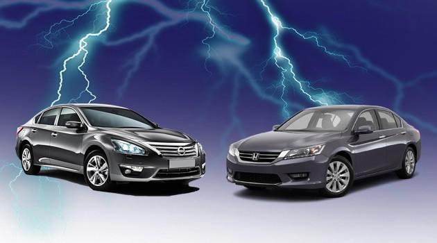 D-Segment大战Part 2,Nissan Teana 2.5 VS Honda Accord 2.4谁更优秀?
