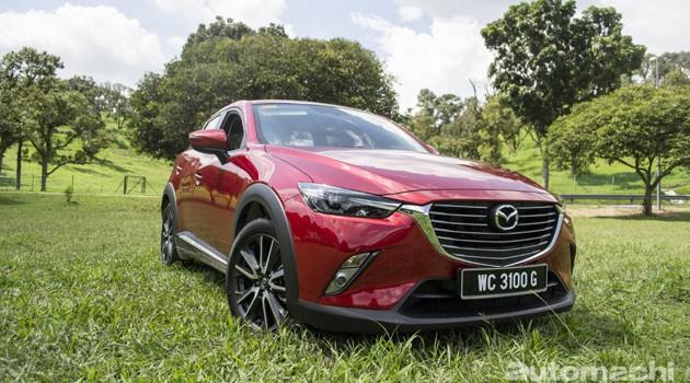 Mazda CX-3,不像休旅车的休旅车!