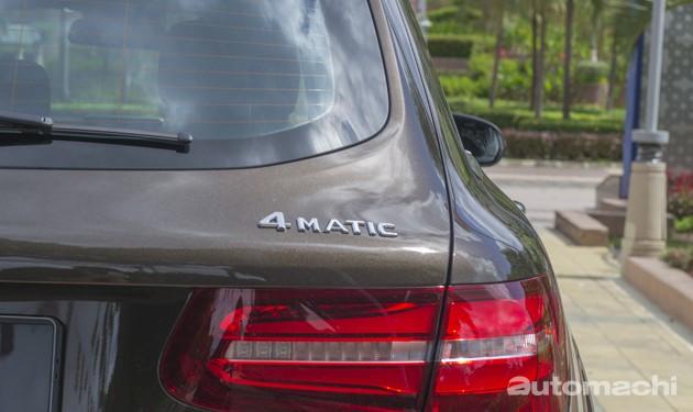 Mercedes-Benz GLC250 4MATIC,豪华越野运动风!