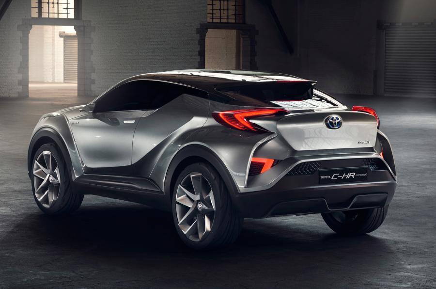 Toyota C-HR量产版确定日内瓦现身!同时配置Hybrid引擎! | automachi.com