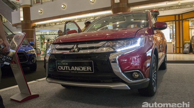 中型SUV新势力,Mitsubishi Outlander实拍!