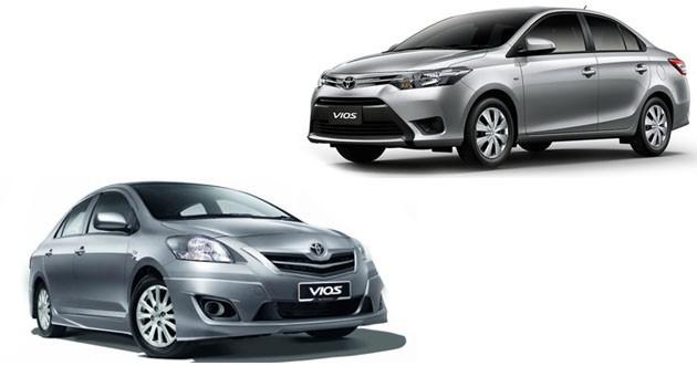 两代Toyota Vios有什么差别?