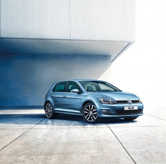 VW正式发布配备升级版的Golf MK7!